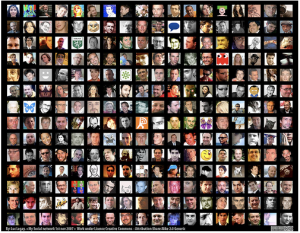 My social network by luc legay on Flickr (Creative Commons license)