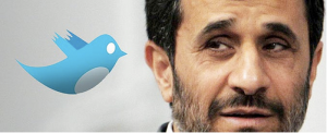 Ahmadinejad and Twitter