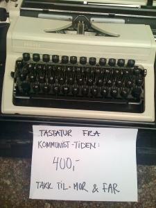 Communist type writer