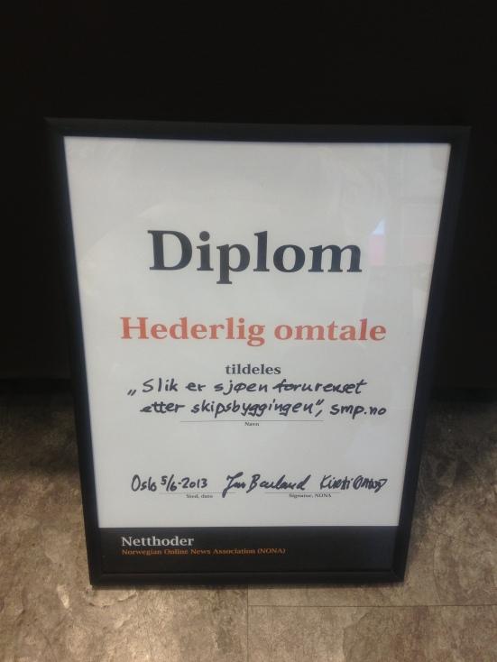 Diploma from NONA